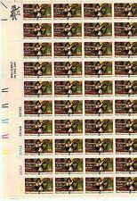#1562 1975 18-cent Peter Francisco sheet of 50