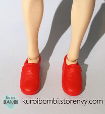 KEN / TAEYANG / OBITSU RED SHOES - 1/6 doll outfit