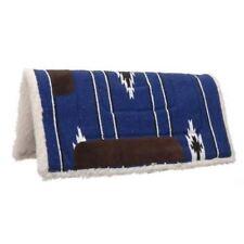 Western Mini Pony kid Saddle Pad 24x24 Kodel Fleece Showman Navajo Assorted Clrs