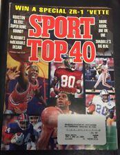 1993 JANUARY SPORT MAGAZINE - TOP 40 - MICHAEL JORDAN - CW 314