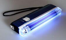 Geldscheinprüfer Mobil mit UV Neonlicht, inkl. Batterien