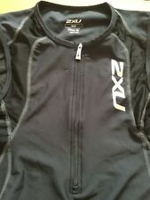 2Xu Aero Tri Singlet Endurance Long Distance Triathlon Sz Small Black