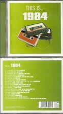 CD - 1984 avec CULTURE CLUB, DURAN DURAN, ULTRAVOX, OMD, TALK TALK / COMME NEUF