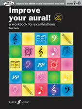 Improve your aural! Grade 7-8 NEW ED.; Harris, Paul, Ear Tests - 571534414