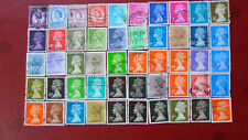 50 versch. englische Briefmarken Königin Elisabeth (26)