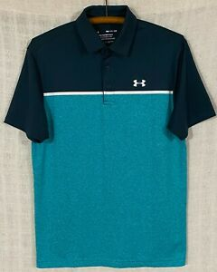 Under Armour Men's Playoff Polo 2.0 Striped Short Sleeve Golf Polo Shirt Small S