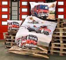 Bettwäsche Feuerwehr aus 100% Baumwolle