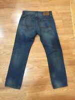Men's American Eagle Slim Straight Vintage 1977 Jeans Sz 28 Inseam 29 Euc