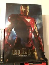 Hot Toys 1/6 Scale Iron Man 2 Mark 6 MK VI MMS132 Marvel
