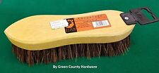 "Traditional Floor Scrubbing Brush Hard Bristle 8.5"" (220mm) Wooden Hand Deck"