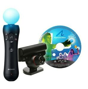 PS3 - Original Move Starter Pack + Motion Controller + Kamera [Sony]