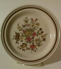 "Royal Doulton Gaiety Lambethware bread & butter plate floral 6 5/8"" dia English"