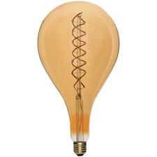 énorme LED spirale filament Ampoule a165 5W E27 OR EXTRA CHAUD 2200K