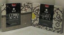 COMO XXI Collection Revelle Pillowsham Gabel Italy King Casablanca Brown 2 Lot