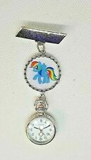 RAINBOW  PONY theme watch - nurse ,  beautician , uniform watch