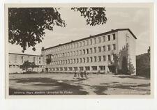 Goteborg Hogre Allmanna Larnverket Flicker Sweden Vintage RPPC Postcard US019