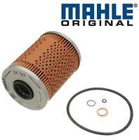 For BMW E36 E46 M3 Z3 Z4 Engine Motor Oil Filter kit w/ O-Ring Mahle OEM