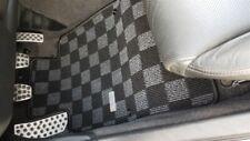 P2M for Honda S2000 AP2 2004-09 Front Floor Carpet Mats Drift Checker Dark Grey