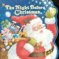 Night Before Christmas Libro en Rústica Clement Clarke de Moore