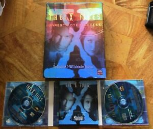 X-Files Unrestricted Access (PC CD-ROM) - Official Interactive Database