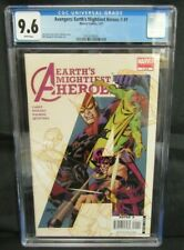 Avengers: Earths Mightiest Heroes II #1 (2007) Dave Johnson Cover CGC 9.6 CE094