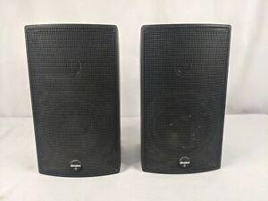 Pair of Boston Acoustics SubSat 6 Series II Speakers 100 Watts Free Shipping