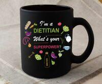 Dietitian Coffee Mug Dietitian Gift Black