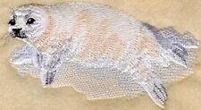 Embroidered Ladies Fleece Jacket - Baby Harp Seal M1308 Sizes S - 2Xl