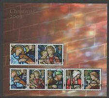 GB 2009 Christmas MINISHEET SGMS2998 MNH mint stamps cat £12