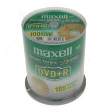 DVD+R 16x Maxell Tarrina 100 uds