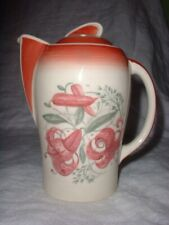 SUSIE COOPER Art Deco KESTRAL Hot Water Pot TIGER LILY Pattern EX!