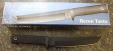 Cold Steel 13RTKJ1 Recon Tanto VG-1 Fixed Blade Knife & Secure-Ex Sheath JAPAN