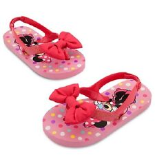 Sold Out!  Disney Minnie Mouse Pink Flipflops girls size 5/6  NWT!!