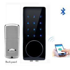 Bluetooth Touch Screen Keypad Code Door Lock Electronic Keyless I-wayhome 76S