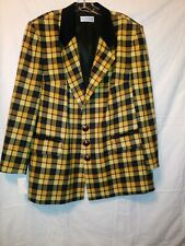 Vintage Givenchy Black & Yellow Coat/Blazer