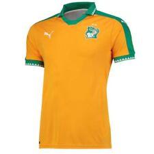 Maglie da calcio di squadre nazionali arancione a manica corta