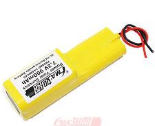 Ni-Cd 7.2V 900mAh Battery for Model toy Solar LED Light portable device AA_6SH