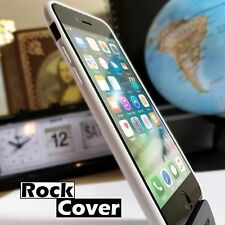 Genuine Rock Cover TPU Flexible Durable Silicone Apple iPhone 7 White Case