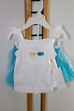 Gymboree Sea Splash Girls Size 6-12 Months Top Beach NWT Tutu Skirt NEW
