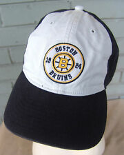 Boston Bruins Retro Style 1924 O/S NHL Baseball Cap Hat Rare Style CCM Vintage