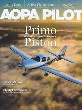 AOPA Pilot Magazine February 2017 Primo Piston Cessna Drones Aviation Flying
