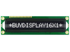 5V Negative Black 16x1 Big Character LCD Module Display w/Tutorial,Bezel,HD44780