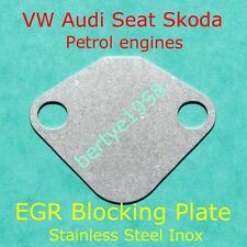 EGR valve blanking plate VW AUDI SKODA SEAT PETROL Polo Golf Caddy A3 Ibiza Leon