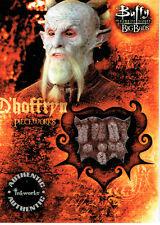 BUFFY THE VAMPIRE SLAYER BIG BADS PIECEWORKS CARD PW3 D'HOFFRYN