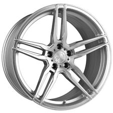 "20"" VERTINI RF1.6 FORGED SILVER CONCAVE WHEELS RIMS FITS LEXUS LS460 LS600"