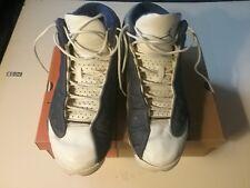 26770b502af 100% Authentic 1998 OG Air Jordan 13 White Blue Flint Grey Size 10.5.