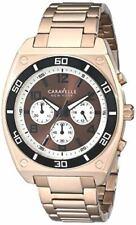 Caravelle New York 45A110 Gents Chronograph Bracelet Watch 3 Yr Guar RRP £129.00