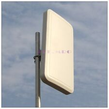 AMXW-2400-18A High Gain 18dBi 2.4Ghz Wlan WIFI Wireless Panel Antenna N Female