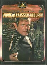 DVD - JAMES BOND 007 : VIVRE ET LAISSER MOURIR avec ROGER MOORE / COMME NEUF