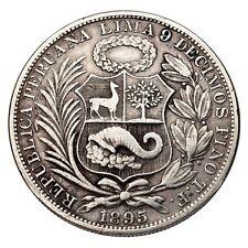 Pièces de monnaie des Amériques, de Pérou